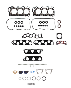 There is well over 50 gaskets and seals that need to replaced with removing and re-installing the cylinder heads in the 3.5 liter MDX motor.