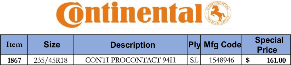 February tire sale_Continental