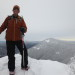 Our staff: Brian & Winter Hiking