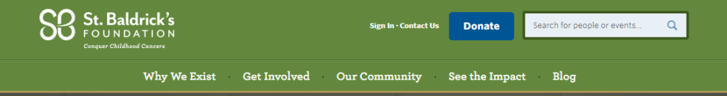 Banner Link to St. Baldrick's Foundation a really great thing to do