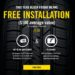 Black Friday Tire Deals, Free Tire Installation