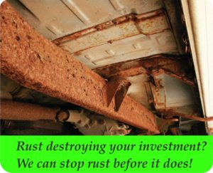 Don't let rust destroy your investment